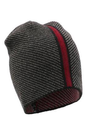 Мужская шерстяная шапка niko CANOE темно-серого цвета, арт. 3441997 | Фото 1