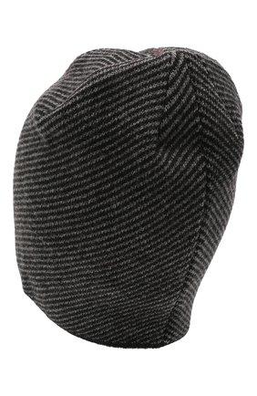 Мужская шерстяная шапка niko CANOE темно-серого цвета, арт. 3441997 | Фото 2