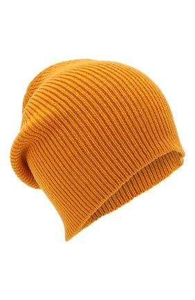 Мужская шерстяная шапка  INVERNI желтого цвета, арт. 4214CM | Фото 1