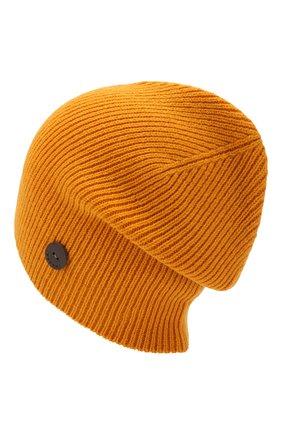 Мужская шерстяная шапка  INVERNI желтого цвета, арт. 4214CM | Фото 2