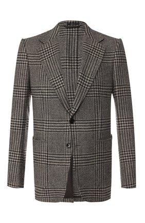 Однобортный пиджак из смеси шерсти и кашемира | Фото №1