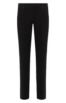 Мужские джинсы прямого кроя TOM FORD черного цвета, арт. BRJ20/TFD002 | Фото 1