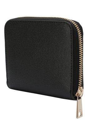 Женские кожаный кошелек babylon FURLA черного цвета, арт. PR84/B30 | Фото 2
