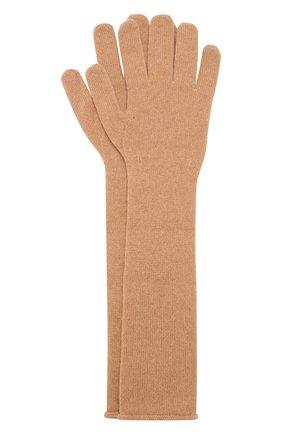 Удлиненные перчатки Odri из смеси шерсти и кашемира   Фото №1