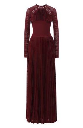 Платье-макси с открытой спиной | Фото №1