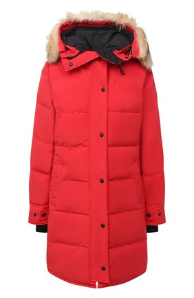 Женский пуховик shelburne CANADA GOOSE красного цвета, арт. 3802L | Фото 1