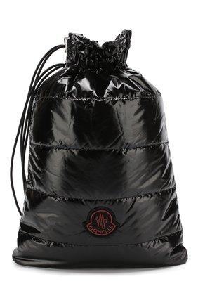 Текстильная стеганая сумка Moncler Palm Angels | Фото №1