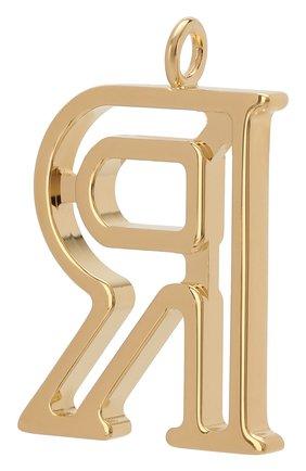 Женские подвеска для сумки alphabet key CHLOÉ золотого цвета, арт. CHC15WK00RCB79DA | Фото 2