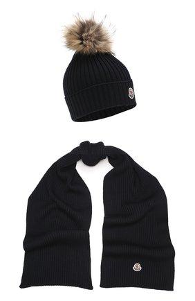 Комплект из шапки и шарфа | Фото №1