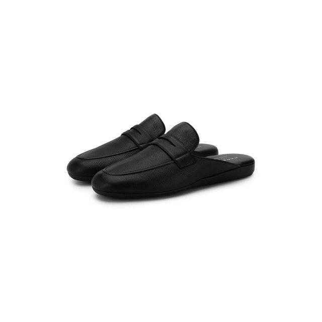 Кожаные домашние туфли Howard