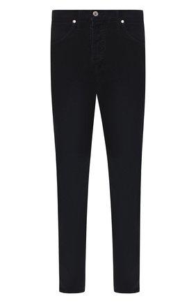 Мужские джинсы прямого кроя TOM FORD темно-синего цвета, арт. BRJ19/TFD007 | Фото 1