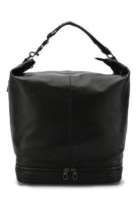 Мужская кожаная сумка-шопер BOTTEGA VENETA черного цвета, арт. 533428/VBJ83 | Фото 1