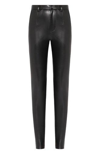 Однотонные брюки-скинни