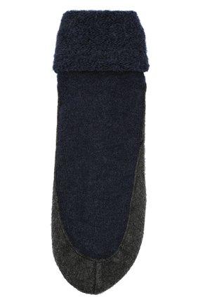 Мужские шерстяные носки FALKE синего цвета, арт. 16560 | Фото 1