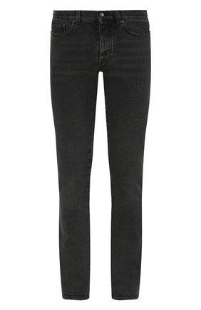 Мужские джинсы прямого кроя SAINT LAURENT темно-серого цвета, арт. 530365/Y772T | Фото 1