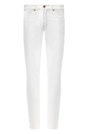 Джинсы прямого кроя Tom Ford белые | Фото №1