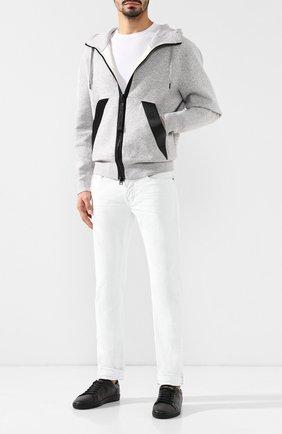Джинсы прямого кроя Tom Ford белые | Фото №2