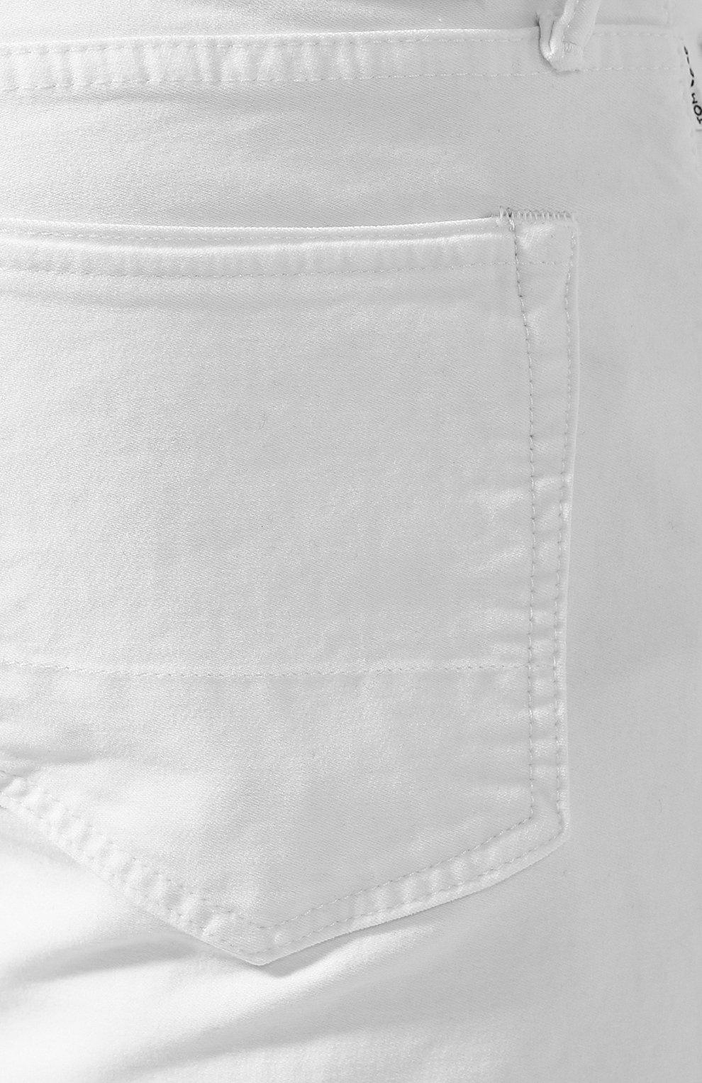 Джинсы прямого кроя Tom Ford белые | Фото №5