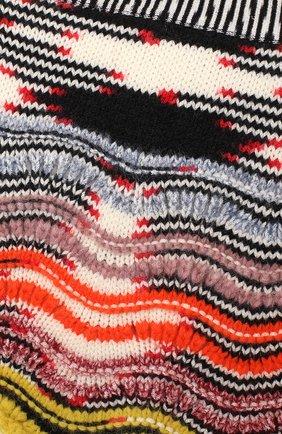 Шерстяная юбка фактурной вязки | Фото №3