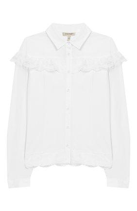 Блуза с кружевной отделкой | Фото №1
