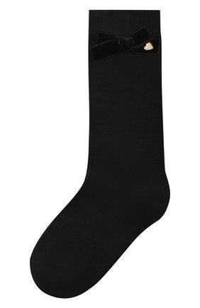 Хлопковые носки с бантом | Фото №1