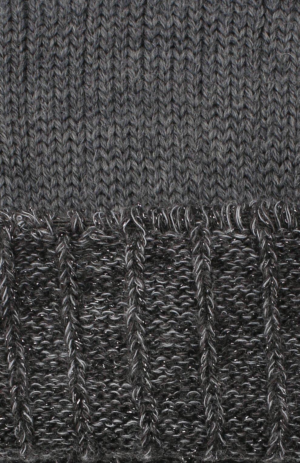 Детские шерстяные носки Falke светло-серого цвета | Фото №2