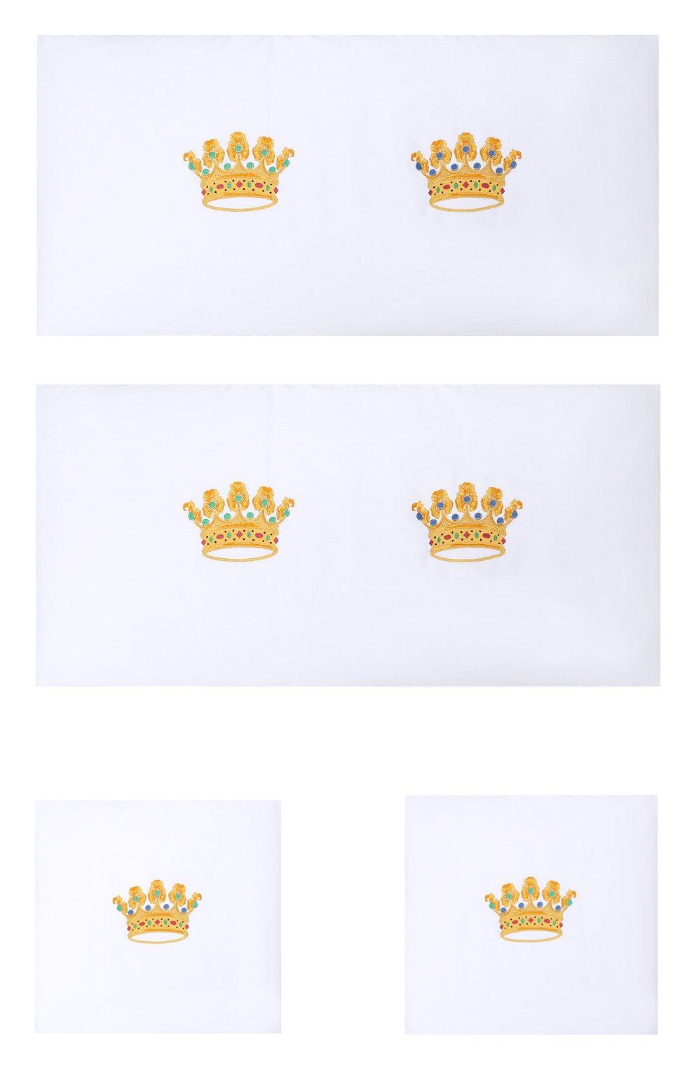 Детского комплект из 4 бортиков для детской кроватки LORETTA CAPONI белого цвета, арт. 182K17188301701 | Фото 1