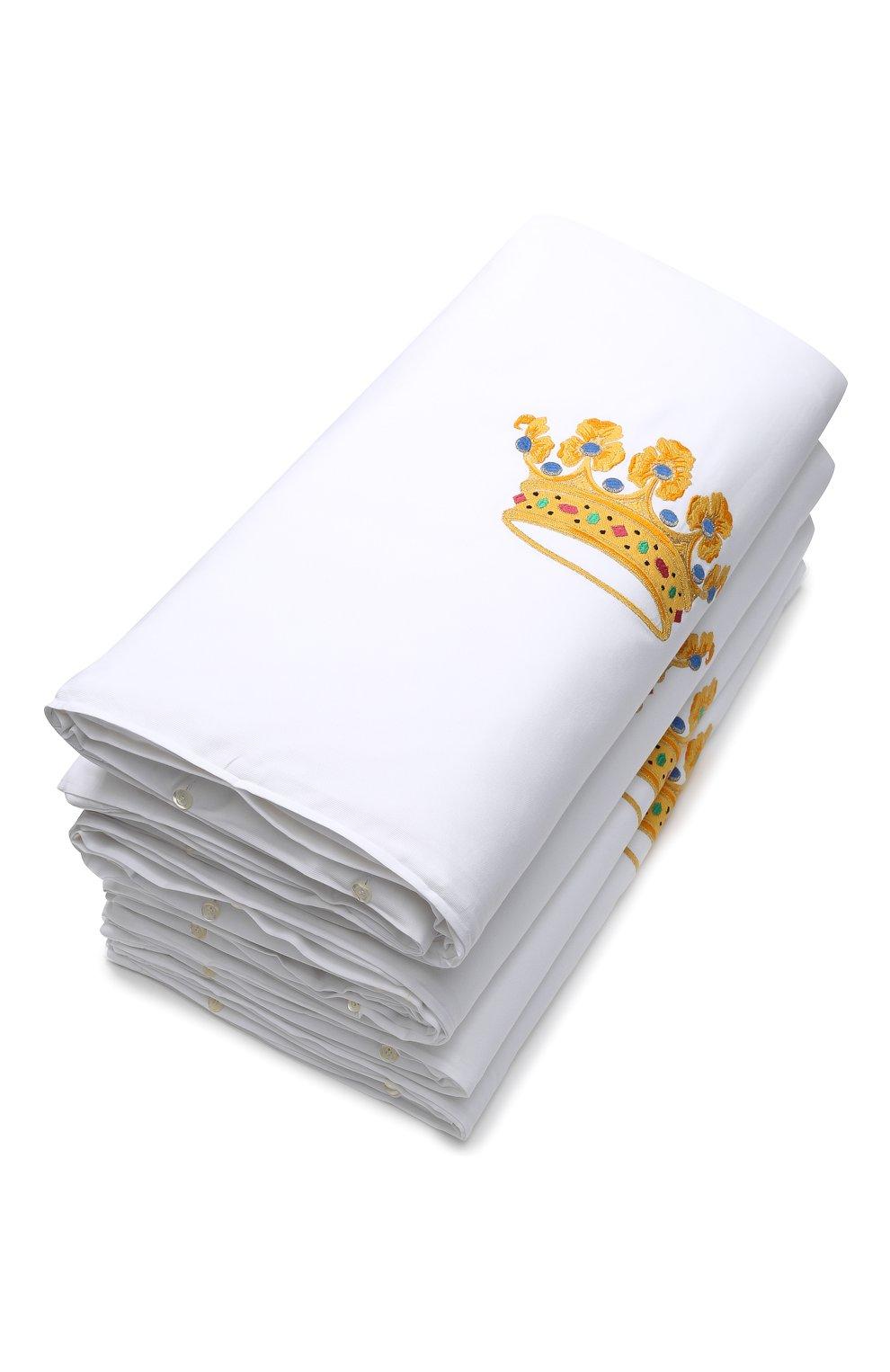 Детского комплект из 4 бортиков для детской кроватки LORETTA CAPONI белого цвета, арт. 182K17188301701 | Фото 2