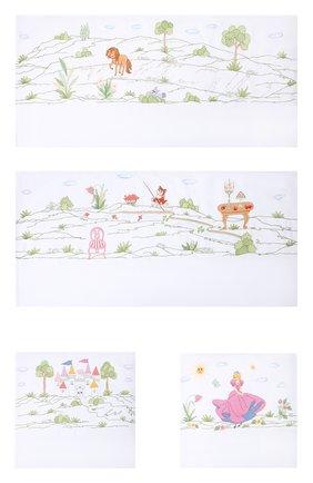Детского комплект из 4 бортиков для детской кроватки LORETTA CAPONI белого цвета, арт. 182K17198301701 | Фото 1