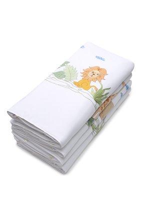 Детского комплект из 4 бортиков для детской кроватки LORETTA CAPONI белого цвета, арт. 182K17238301701 | Фото 2
