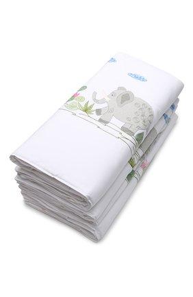 Детского комплект из 4 бортиков для детской кроватки LORETTA CAPONI белого цвета, арт. 182K17278301701 | Фото 2