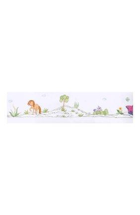 Детского хлопковый борт для детской кроватки LORETTA CAPONI белого цвета, арт. 182K18198301701 | Фото 1