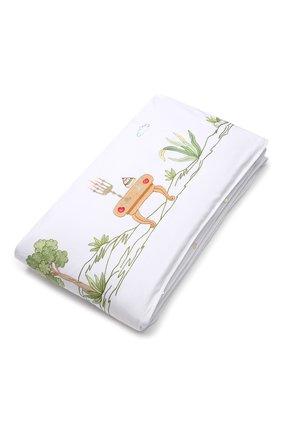 Детского хлопковый борт для детской кроватки LORETTA CAPONI белого цвета, арт. 182K18198301701 | Фото 2
