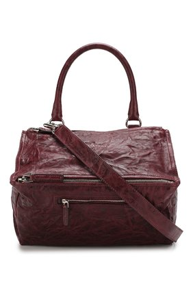 Женская сумка pandora medium GIVENCHY бордового цвета, арт. BB05250004 | Фото 1
