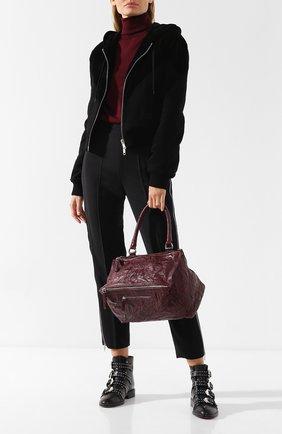 Женская сумка pandora medium GIVENCHY бордового цвета, арт. BB05250004 | Фото 2