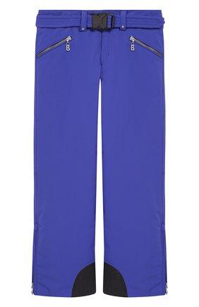 Утепленные брюки с поясом | Фото №1