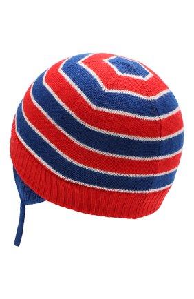 Детского шерстяная шапка GUCCI синего цвета, арт. 522791/3K206 | Фото 2
