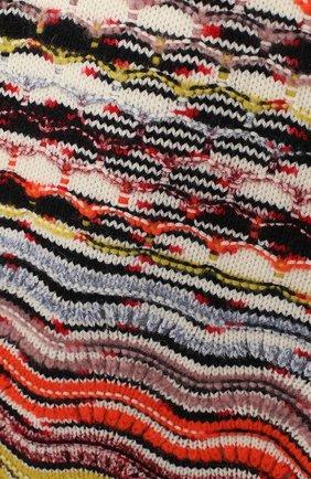 Шерстяное платье фактурной вязки | Фото №3