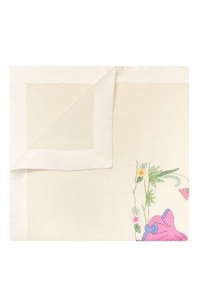 Детского шерстяное одеяло LORETTA CAPONI белого цвета, арт. 182K10198303402 | Фото 1
