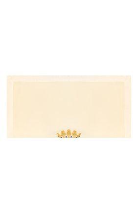 Детского шерстяное одеяло LORETTA CAPONI белого цвета, арт. 182K13188302002 | Фото 2