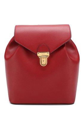 Кожаный рюкзак с клапаном | Фото №1