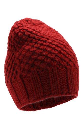 Кашемировая шапка Gray Glace фактурной вязки