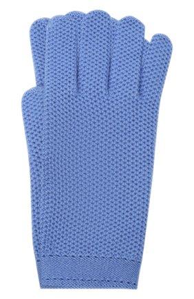 Женские кашемировые перчатки LORO PIANA синего цвета, арт. FAA1252 | Фото 1 (Материал: Кашемир, Шерсть; Статус проверки: Проверено, Проверена категория)