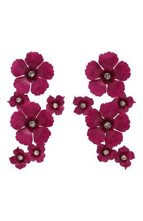 Серьги в виде цветов | Фото №1