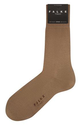 Мужские хлопковые носки tiago FALKE бежевого цвета, арт. 14662 | Фото 1