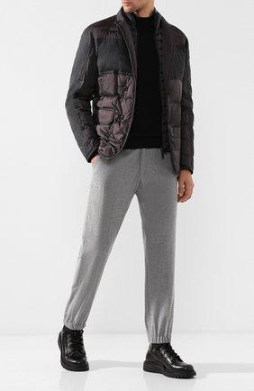 Пуховая куртка Arnold на пуговицах | Фото №2
