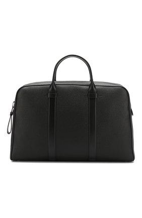 Кожаный портфель на молнии | Фото №1