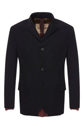 Однобортный пиджак из смеси вискозы и шерсти  | Фото №1