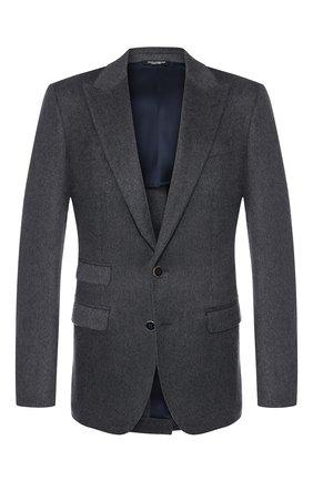 Однобортный пиджак из кашемира   Фото №1