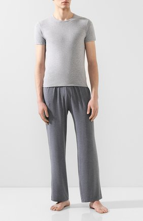Мужские комплект из двух хлопковых футболок DIRK BIKKEMBERGS серого цвета, арт. B41308T48 | Фото 2